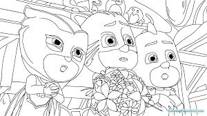 Pj Masks Coloring Pages 1012