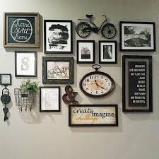 Some Interesting Ideas It Definitely Works But Would Use The Concept With Different Art Pieces Entryway Wall DecorFrame