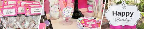 Spa Day Birthday Theme Party Decoration And Tableware Ideas
