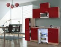 küche 270 cm blau küchenzeile küchenblock einbauküche komplettküche