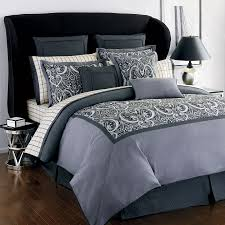 Black Leather Headboard With Crystals by Minimalist Bedroom Design With Beige Floral Gray Bed Sheets Black