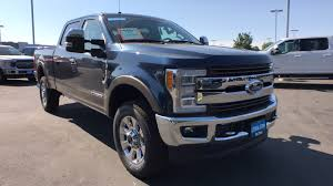 New 2018 Ford F-350 F-350 King Ranch Truck Crew Cab Blue Jeans For ...