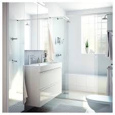 bråviken waschbecken 1 weiß 100x48x10 cm