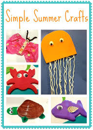 Easy Summer Kids Crafts Ye Craft Ideas Themed For Preschoolers
