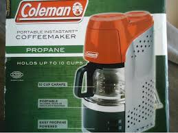 Coleman Portable Propane Coffee Maker