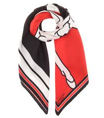 givenchy sandals on sale givenchy bambi silk scarf black red