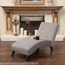 Ebay Chaise by Elegant Design Grey Fabric Curved Chaise Lounge Chair Ebay