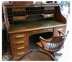achat bureau achat ancien et brocante bureau en chêne à rideau