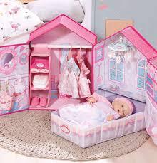 baby annabell puppen möbel schlafzimmer pink baby