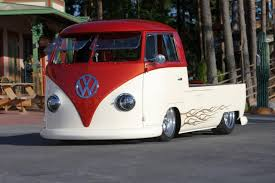 COOL SLAMMED VW BUS TRUCK SHOP SAFE THIS CAR AND ANY OTHER CAR