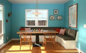 Dining Room Banquette Seating Contemporary With Bench Image By Studio