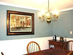 Dining Room Paint Ideas With Chair Rail Painting