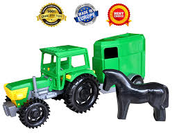 100 Toy Farm Trucks And Trailers Trucks Kids Toys Construction Toys Toys Tractor Trailer For Boys Toddlers Tractor Toys Toys Vehicles Tractor Car Farm Toy For