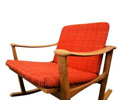 Nissen Mid-century Danish Oak Rocking Chair, Finn JUHL - 1960s ... Danish Modern Mid Century Rocking Chair By Selig At 1stdibs By Georg Jsen For Kubus Viesso Soren Whosale Chairs Living Room Fniture George Oliver Dominik Wayfair Masaya Co Amador Wayfairca Plastic Black Harmony Belianicz Cado Rocking Chair In Rosewood And Leather Ole Wanscher