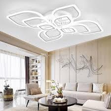 großhandel freies schiff neue acryl moderne led kronleuchter wohnzimmer schlafzimmer led schatten große kronleuchter beleuchtung deckenleuchte
