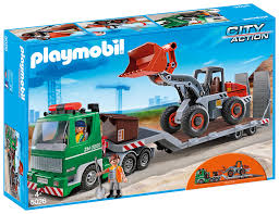 PMB 5026 FLATBED TRUCK , | Playmobil At TOYS