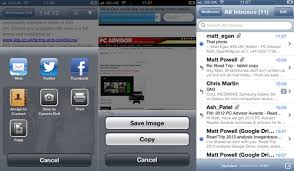We show you several ways to save photos on to your iPhone or iPad