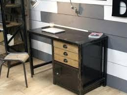 bureau metal et bois best bureau images style industriel en metal et bois m caruso
