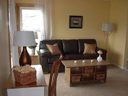 Living Room Decorating Brown Sofa by Marvelous Living Decoration With Dark Brown Couch Living Room