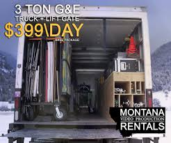 100 Grip Truck PreLoaded S Montana Video Production Rentals
