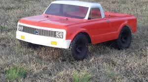 J Concepts 1972 Chevrolet C10 Body On Traxxas Slash With 2.8 ...