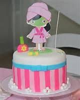 Pin Girls Spa Theme Birthday Cake Party Ideas On Pinterest