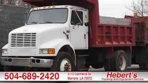 100 Trucking Equipment Heberts Service Certified Driver Haul Gravel