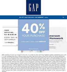 Gap Coupons - 40% Off At Gap, Or Online Via Promo Code WEEKDAY How To Save Money At Gap 22 Secrets From A Seasoned Gp Coupon Code Corner Bakery Coupons Printable Shop For Casual Womens Mens Maternity Baby Kids Coupon Baby Gap Skin Etc Friends And Family Recycled Flower Pot Ideas Lampsusa Ymca Military Discount Canada Place Cash Anaconda Free Shipping Finally Parallels Coupons Bridge The Between Mac And Pinned May 2nd 10 Off 30 Kohls Or Online Via Promo Om Factory 1911 Sale 45 Uae Promo Code Up 50 Off Codes Discount