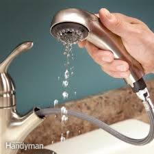 slow running water unclog the aerator faucet repair sprays and