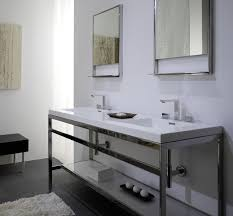 Sears Corner Bathroom Vanity by Steel And Stone Bathroom Vanity Unit Vanities Metal Console Sink