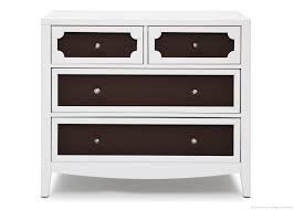 Black Dresser 4 Drawer by Bedroom Hollywood 4 Drawer Chest In Black And White For Home