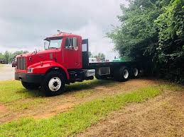 USED 2004 PETERBILT M330 FLATBED TRUCK FOR SALE IN AL #3230 Peterbilt Trucks For Sale In Fresnoca Used Peterbilt Trucks For Sale Bc Best Truck Resource Cottrellpeterbilt Custom Paint Carhauler Waiting For You To Become Sleepers Big Sleepers Come Back The Trucking Industry New And Used Semi Oh Ky Il Dealership Ari Legacy Commercial Rental And Leasing Paclease 379exhd 2016 579 Tandem Axle Sleeper 10762