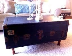 steamer trunk coffee table repurposing old stuff motifbrophy