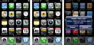 Arrange Application icons on the iPhone or iPod touch