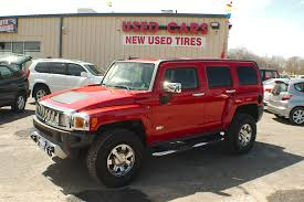 100 Hummer H3 Truck For Sale 2009 Red 4x4 Used SUV Sale