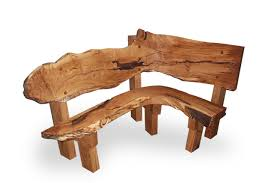 Wood Bench Outdoor