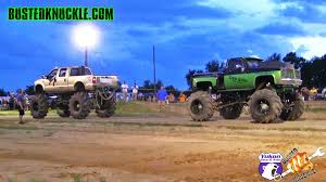 MEGA TRUCK TUG OF WAR At TWITTY'S MUD BOG - YouTube