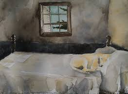 Posters Master Bedroom Andrew Wyeth 35x29 Gallery Quality Framed