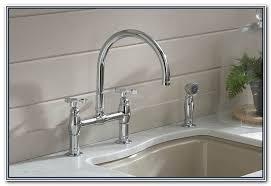 Kohler Fairfax Kitchen Faucet Brushed Nickel by Kohler Fairfax Kitchen Faucet Sinks And Faucets Home Design