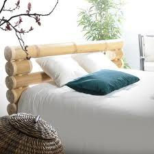 Cool Bamboo Headboard For A Zen Bedroom Home Decor Inspirations