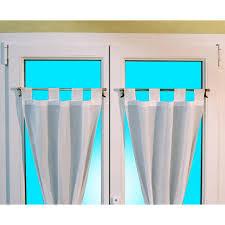 tringles rideaux sans percer barre à rideaux sans perçage basic ø 9 mm blanc castorama