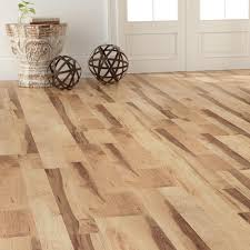 Trafficmaster Glueless Laminate Flooring Lakeshore Pecan by Pergo Xp Sugar House Maple 10 Mm Thick X 7 5 8 In Wide X 47 5 8