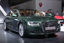 Audi A8L W12 in Verdant Green Pearl Has Jaguar Looks autoevolution
