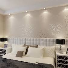 QIHANG European Vintage Luxury Damask Wall Paper PVC Embossed Textured Wallpaper Roll Home Decoration Cream
