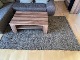 wohnzimmer teppich in braun grau