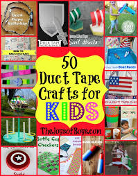 50 Of The BEST Duct Tape Crafts For Kids