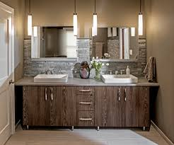 Custom 3 DL Cabinetry By Bremtown Caesarstone Quartz Tops Kohler Sinks And Faucets Robern Medicine Cabinets The Shower Features Natural Clefted