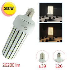 daylight white 5500k mogul base 200w e40 corn led light bulb 1000w