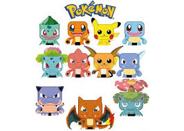 11 Mini Pokemon Papercrafts Free Templates Download