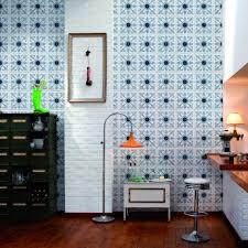 papier peint imitation carrelage cuisine papier peint pour cuisine tendance inspirations et papier peint